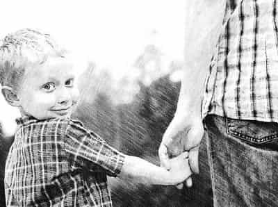 Добровольно установить отцовство